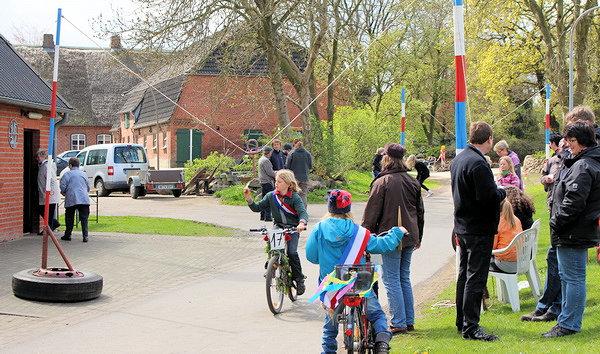 Kinderringradfahren