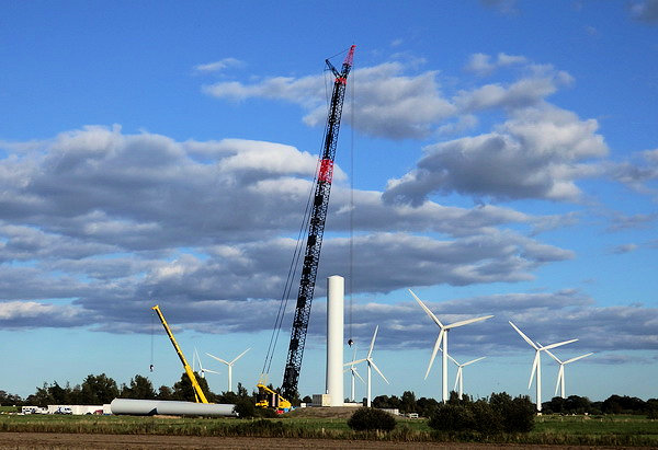 Windpark Steife Brise