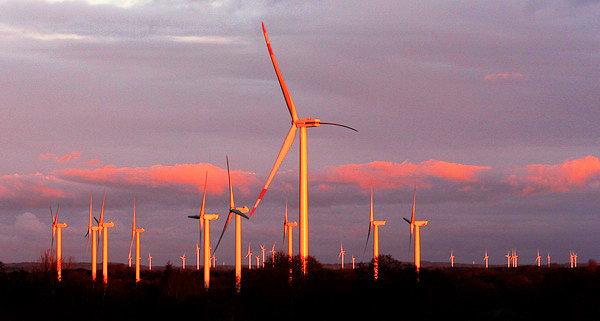 Windpark Steife Brise in Betrieb genommen