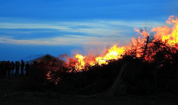 Osterfeuer am 26.März um 18:30 Uhr
